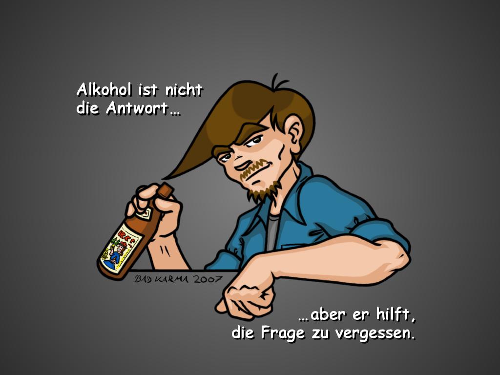 Die Mittel für die Befreiung von der alkoholischen Abhängigkeit